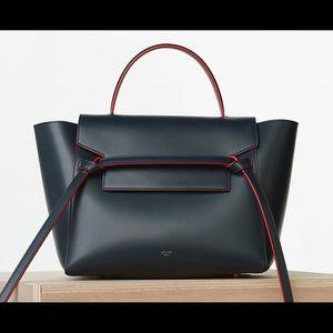 Celine Belt Bag Navy Blue